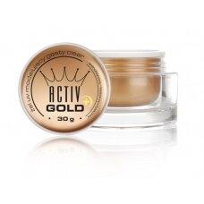 UV vienfazis gelis  ACTIV GOLD, 30 g.