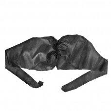Vienkartinės moteriškos liemenelės procedūroms, 10 vnt. (juoda)