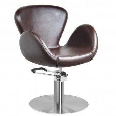 AMSTERDAM kirpyklos kėdė, ruda