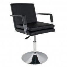 GABBIANO kirpyklos kėdė, juoda