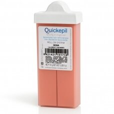 Veido depiliacijai vaškas kasetėje Quickepil rožinis, 110 g.