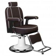 GABBIANO BARBER kėdė AMADEO, ruda