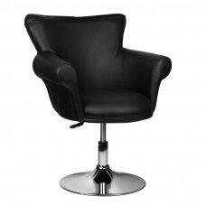 Grožio salono kėdė GRACIJA, juodos spalvos