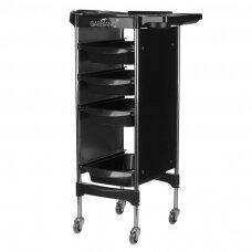 GABBIANO FX11-2 kirpėjo vežimėlis, juodas