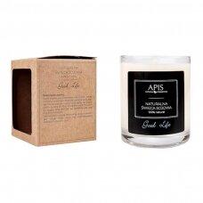 APIS natūrali sojos žvakė Good Life 220g