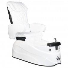 SPA kėdė pedikiūrui su masažo funkcija AS-122, balta