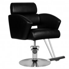 HAIR SYSTEM kirpyklos kėdė HS02, juoda