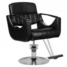 HAIR SYSTEM HS52 barberio kėdė, juoda
