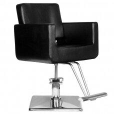 Profesionali kirpyklos kėdė HAIR SYSTEM HS91, juodos spalvos