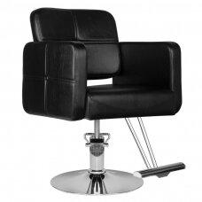 HAIR SYSTEM kirpyklos kėdė HS10, juoda