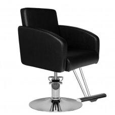 HAIR SYSTEM kirpyklos fotelis, juodas