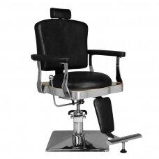 Barberio kėdė, juoda