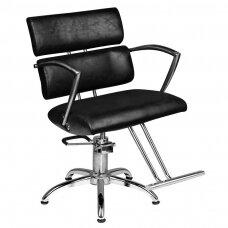 Hidraulinė kirpyklos kėdė SM362-1, juoda