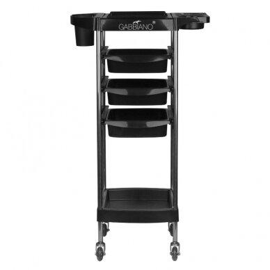 GABBIANO FX11-A kirpėjo vežimėlis, juodas 3