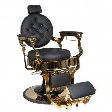 Profesionali barberio kėdė kirpykloms ir grožio salonams GABBIANO CLAUDIUS GOLD