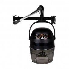 Profesionalus montuojamas plaukų džiovintuvas kirpykloms GABBIANO 1600A, juodos spalvos