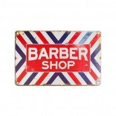 Dekoratyvinė lentelė grožio salonams ir barberių kirpykloms BARBER C004