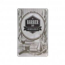 Dekoratyvinė lentelė grožio salonams ir barberių kirpykloms BARBER C010