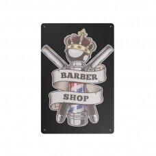Dekoratyvinė lentelė grožio salonams ir barberių kirpykloms BARBER B015