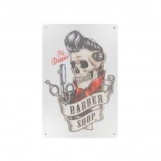 Dekoratyvinė lentelė grožio salonams ir barberių kirpykloms BARBER B023
