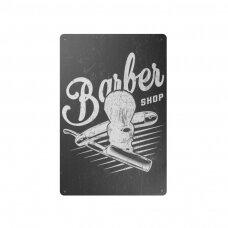 Dekoratyvinė lentelė grožio salonams ir barberių kirpykloms BARBER B026