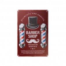 Dekoratyvinė lentelė grožio salonams ir barberių kirpykloms BARBER B030