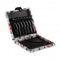 Žirklių dėklas - organaizeris kirpėjams ir barberiams UK
