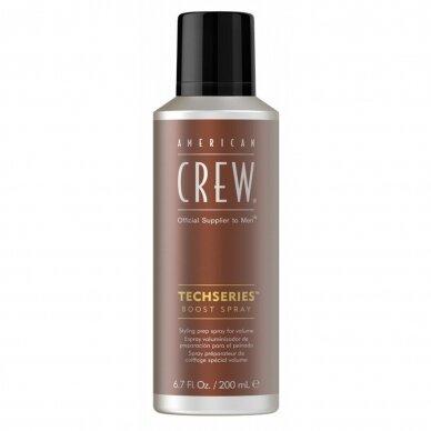 AC TECH SERIES BOOST SPRAY vyriškas plaukų puškiklis apimčiai padidinti, 200 ml