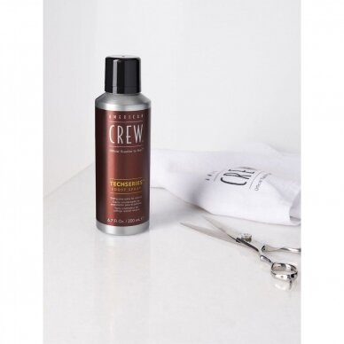 AC TECH SERIES BOOST SPRAY vyriškas plaukų puškiklis apimčiai padidinti, 200 ml 2