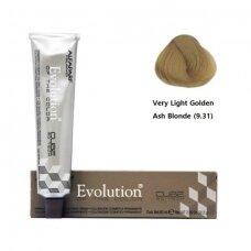 Alfaparf Evolution Cube 3D ilgalaikiai plaukų dažai 60 ml 9.31 Very light golden ash blonde