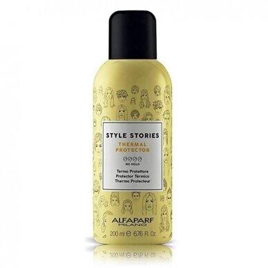 ALFAPARF Style Stories Thermal Protector plaukus nuo karščio apsauganti priemonė, 200 ml.