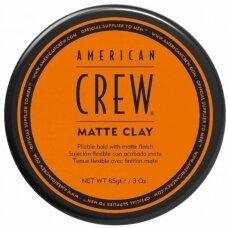 American Crew Matte Clay Plaukų modeliavimo priemonė, 85 g.