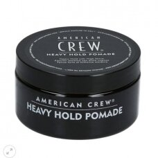 American Crew Heavy Hold Pomade stirpios fiksacijos plaukų pomada, 85 g.