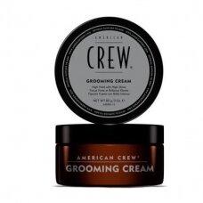 American Crew Grooming Cream stiprios fiksacijos kremas su žvilgesiu, 85 g.