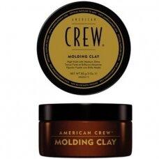 American Crew Molding Clay Stiprios fiksacijos formavimo priemonė, 85 g.