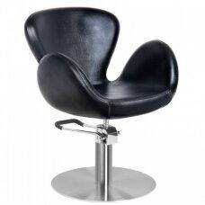 AMSTERDAM kirpyklos kėdė, juoda