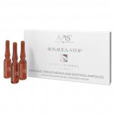 APIS ROSACEA-STOP raminančios ampulės 10x3 ml.