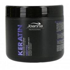 Joanna Professional atkurianti plaukų kaukė su keratinu, 500 g.