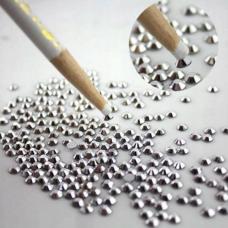 Baltas pieštukas smulkioms nagų dekoracijoms, 1 vnt.