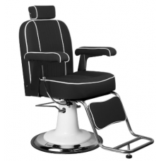 Barberio kėdė AMADEO, juoda