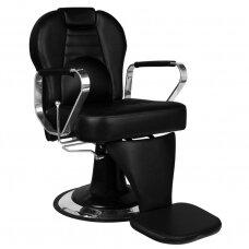 Barberio kirpyklos kėdė TIZIANO, juoda