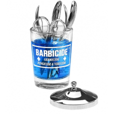 BARBICIDE stiklinis konteineris dezinfekcijai, 120ml