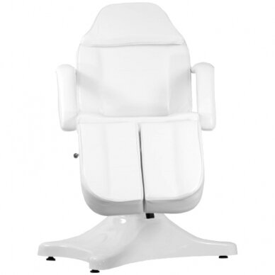 Balta hidraulinė pedikiūro kėdė lova 6