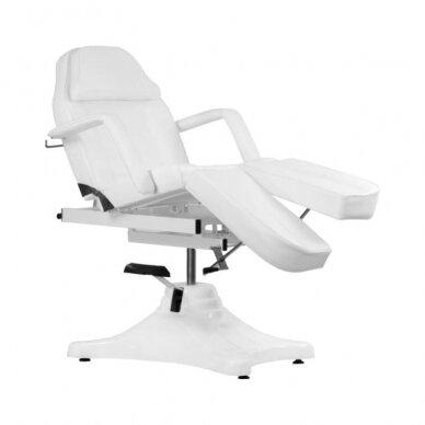 Balta hidraulinė pedikiūro kėdė lova 4