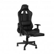 Biuro ir kompiuterinių žaidimų kėdė PREMIUM 916, juodai žydros spalvos