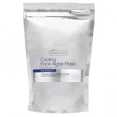 Bielenda vėsinanti alginatinė dumblių kaukė veidui su rutinu ir vitaminu C, 190 g.
