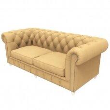 Chesterfield stiliaus laukiamojo sofa DUKE