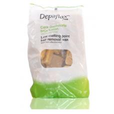 DEPILFLAX kietas natūralus vaškas, 1 kg.