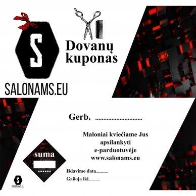 Dovanų kuponas Salonams.eu 2