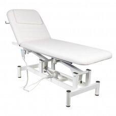 Elektrinė masažo lova 079 1, balta